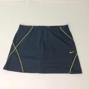 Nike Sphere Dry Navy Tennis Skirt Size XS